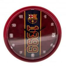 Official Licensed Football Product FC Barcelona Wall Clock ES Crest Gift Fan New