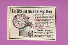 GRÜNA, Werbung 1932, Guido Hahn Fabrik techn. Meß-Prüfinstrumente
