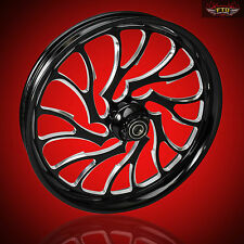 "Harley Davidson Monster 32"" Inch Front Wheel ""Nightmare"" by FTD Customs"
