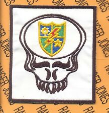 US Army 75th Infantry Airborne Ranger LRRP LRP Dead Head pocket patch