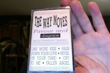The Way Moves- Favour and Disgrace- new/sealed cassette- promo