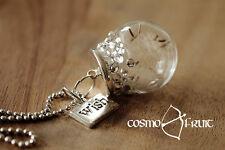 Pusteblumen Wunsch Kette - verziert mit Swarovski® Kristallen