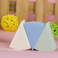 8pcs Triangle Shaped Candy Color Soft Magic Face Cleaning Pad Puff Cosmetic ZT