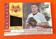 2016 Panini Fathers Day Road Trip BRADEN SHIPLEY PATCH Cracked Ice #05/25 Made