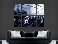 Black rock shooter manga art image énorme large wall art poster photo""