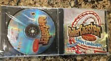 RollerCoaster Tycoon Gold Edition PERFECT CONDITION Original +2 Expansions PC