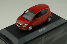 Opel Agila B 2011 red 1:43