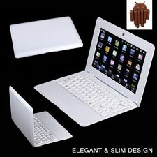 10 inch NETBOOK MINI LAPTOP WIFI ANDROID 4.4 VIA WM8880  NOTEBOOK 4GB White Gift