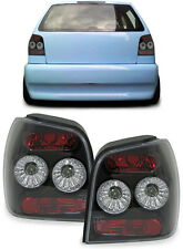 BLACK / SMOKED REAR TAIL LIGHTS FOR VW POLO 6N2 10/1999 - 10/2001 NICE GIFT