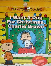 I Want a Dog for Christmas, Charlie Brown DVD,NEW! FREE SHIP! PEANUTS ,CHILDREN