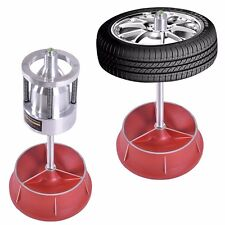 New Portable Hubs Wheel Balancer W/ Bubble Level Heavy Duty Rim Tire Cars Truck