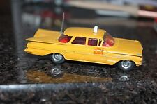 Corgi Toys # 221  New York Taxi Cab beauty all original and original aerial !!!