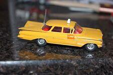 Corgi Toys # 221  New York Taxi Cab beauty all original and original aerial !!!