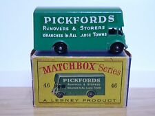 Matchbox Lesney No.46b Guy Pickfords Removal Van In 'D' Box (RARE 10x36 BPW!!)