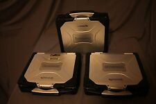 Lot of Three Panasonic Toughbook MK2 CF-30 Core 2 Duo-CPU L7500, Low hours!