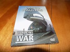 WEAPONS OF WAR CARGO HAULERS Transport Air Force Aircraft Plane Military DVD NEW