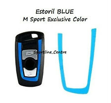 Estoril Blue BMW Key Vinyl Decal Sticker F30 F35 F20 F10 F18 F07 1 3 5 M Series