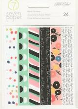 Studio Calico Seven Paper GOLDIE Washi Book 24pc Adhesive Pocket Page Journal
