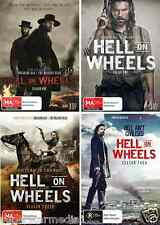 Hell On Wheels COMPLETE COLLECTION Seasons 1 - 4 : NEW DVD