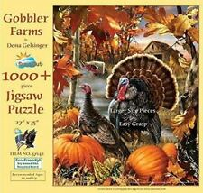 SunsOut Jigsaw Holiday Puzzle Gobbler Farms