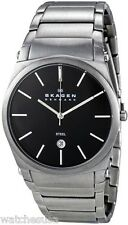 Skagen Men's 859LSXB Steel Black Dial Stainless Steel Quartz Watch