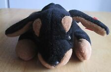 TY Beanie Babies DOBY Doberman dog 1996,no tag, Great condition