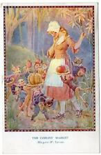 1940  MARGARET TARRANT  The Goblins Market Fairy Hours Series  Postcard