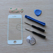 New Replacement Front Screen Glass Lens + Tools for Apple IPhone 5S 5C White