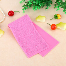 Silicone Lace Flower Shape Cake Decor jaws stamping Mat Mould Craft Decor New