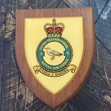 VTG Royal Air Force 55 Flying Training School Dysgu I Ehedeg Military Plaque