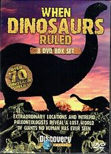 WHEN DINOSAURS RULED -  SUPER 8 DVD SET - FREE POST IN THE UK