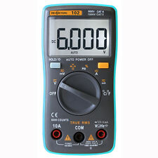 Multimeter DC AC Voltage Current Resistance Diode Capacitance Temperature Tester