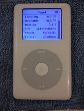 Refurbished 20gb Apple iPod Classic 4th Gen A1059 (w/New Battery & Wolfson DAC)