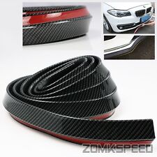 2.5m Body Kit/Bumper Lip/Side Skirt Rubber Carbon Fiber Look Edge Protector Trim