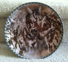 Judy Larson Free Spirits Horse Plate - Packherd- Second Issue Limited Ed