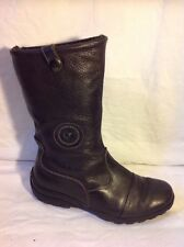 Rohde Brown Ankle Leather Boots Size 38