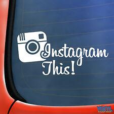 Instagram QUESTO Divertente Auto Finestrino Adesivo Decalcomania In Vinile Novità