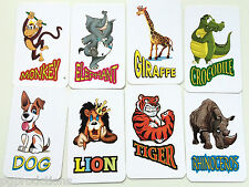 ANIMENTAL CARDS Animal Zoo Mental Magic Trick Set Prediction Picture Pocket Kid
