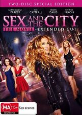 Sex and the City - The Movie (Extended Cut) (DVD, 2008, 2-Disc Set)