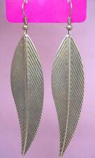C1072 fashion charm shiny leaf dangle earrings hot sell jewelry
