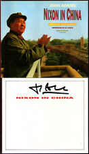 JOHN ADAMS Signed NIXON IN CHINA Edo de Waart 3CD James Maddalena Sanford Sylvan