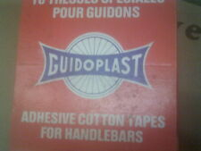 NOS 2 ROLLS BLUE  GUIDOPLAST CLOTH HANDLE BAR TAPE