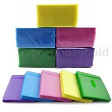 100pcs CD DVD Disc Double Side Cover Storage Case Plastic Bag Sleeve Pack Holder