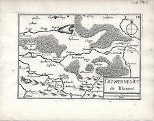 Antico mappe, gouvernement DE blamont