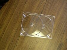 100 NEW DOUBLE (2) DVD DIGITRAY,  DIGI TRAY CLEAR, SF20