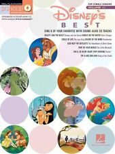 Disneys Best Female Singers Learn to Sing Vocal Karaoke Audition Music Book
