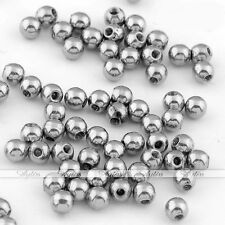500pc Steel Silver 3mm Ball Fit 16G Lip Nose Tongue Ring Piercing Accessories