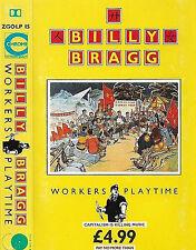 BILLY BRAGG WORKERS PLAYTIME CASSETTE ALBUM Folk Rock, Indie Rock