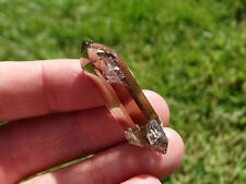 SWISS ALPINE SMOKEY QUARTZ CRYSTAL ~ 3 ~ RARE ! LAST STOCK ! ~ DIRECT FROM MINER