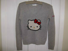 **Rare HELLO KITTY CASHMERE V-NECK SWEATER by VICTORIA'S COUTURE- Size XS**